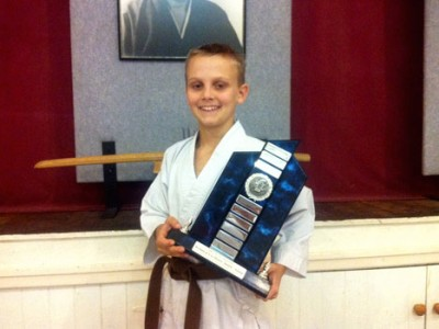 Kyle Awarded Jnr Technical Excellence Award
