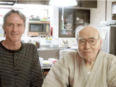 Jr & Nakanishi Sensei Tainen Takemori Oldest Living Student