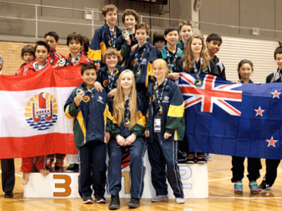 Lily Team Gold Medal Oceania 2012