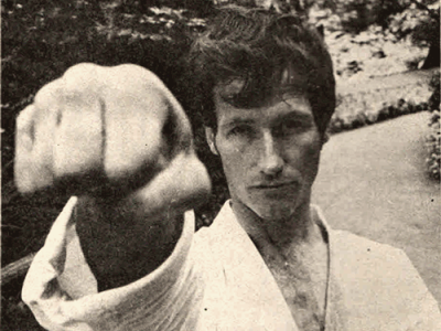 John Halpin Sensei Early 70′s Seiken (Traditional Fist Strike)