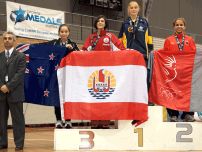 Lily Individual Gold Medal Oceania 2012